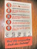 B85-I-3Reich-Manifest propaganda nazist pentru radioul german.