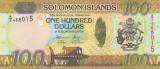 Insulele Solomon 100 Dolari 2015 UNC