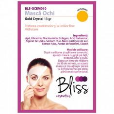 Mască pentru ochi cu cristale de aur și colagen(BLS-GCEM010)