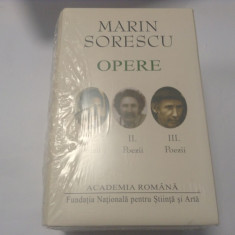 Marin Sorescu. Opere (Vol. I-III) Poezii--RF15/4