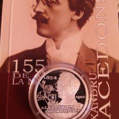 10 lei argint 2009-Alexandru Macedonski