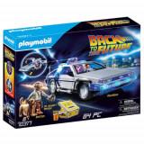 Set de Constructie Back to the Future - Masina Delorean, Playmobil