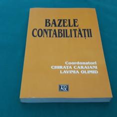 BAZELE CONTABILITĂȚII/CHIRIȚA CARAIANI, LAVINIA OLIMID/ 2001