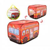 Cort de joaca pentru copii model masina de pompieri sau politie