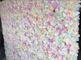 Panou floral, foto corner, din flori artificiale
