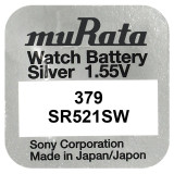 Baterie de ceas Murata 379 AG0 SR521SW 1.55V 1Bucata /Set