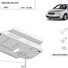 Scut motor metalic Hyundai Accent 2005-2010