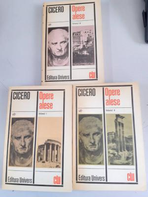 Cicero - Opere alese - 3 Volume foto