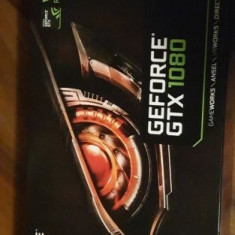 Geforce GTX 1080 Windforce OC , 8GB GDDR5X , garantie un an + cutie