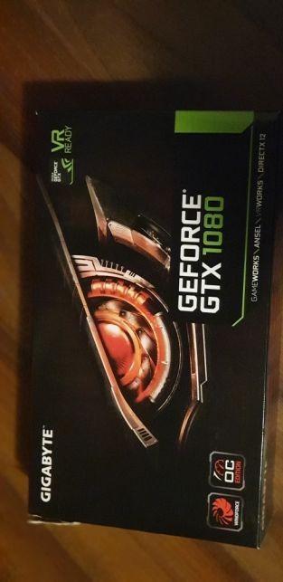 Geforce GTX 1080 Windforce OC , 8GB GDDR5X , garantie un an + cutie