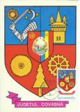 TSV* - MAXIMA COVASNA - STEMA JUDETULUI HERALDICA `78