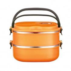 Recipient alimente dreptunghiular Peterhof PH-12416-18, 1.8 l, portocaliu