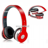Casti Bluetooth Stereo tip Beats cu Radio, MP3 si SD Card S450, Wireless, Beats by Dr. Dre