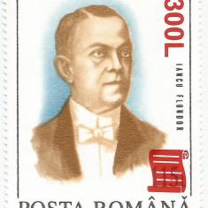 """Romania, LP 1556/2001, 75 ani de la Marea Unire 1993 - supratipar """"papirus"""", MNH"""