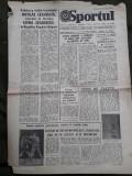 Ziarul Sportul din 15 octombrie 1982