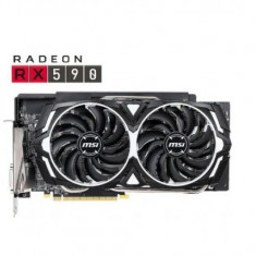 Placa video MSI Radeon RX 590 ARMOR OC, 8GB, GDDR5, 256-bit