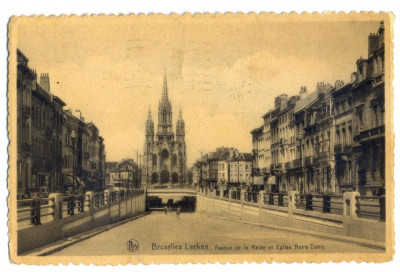 AD 1050 C. P. VECHE - BRUXELLES  LAEKEN -1935 -KOVACS ANDREI-SPITALUL MILITAR BV foto