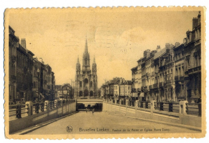 AD 1050 C. P. VECHE - BRUXELLES  LAEKEN -1935 -KOVACS ANDREI-SPITALUL MILITAR BV