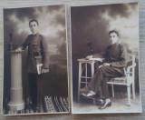 2 foto România  elev - ofițer, anii 1930 - 1932