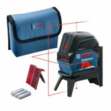 Bosch GCL 2-15 Professional + RM1 Nivela laser cu puncte si linii, 15m, precizie 0.3mm/m
