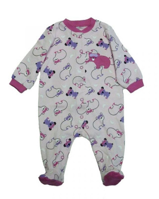 Salopeta / Pijama bebe cu ursuleti Z22 foto