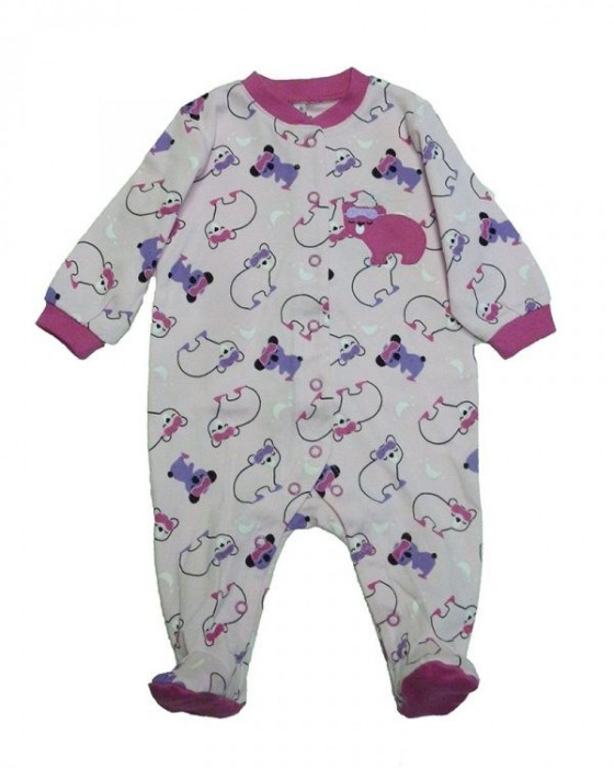 Salopeta / Pijama bebe cu ursuleti Z22