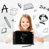 Cumpara ieftin Tableta grafica cu display LCD 8.5 inch, rescriptibila, stylus, buton de stergere