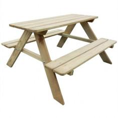 Masă de picnic pentru copii 89 x 89,6 x 50,8 cm 41701