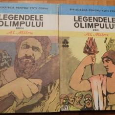 Legendele Olimpului de Alexandru Mitru (Zei + Eroi) BPT 1983