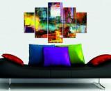 Tablou decorativ multicanvas Miracle, 5 Piese, Abstract, 236MIR1949, Multicolor