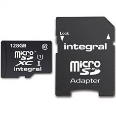 Card de memorie Integral Ultima Pro 128GB Clasa 10 UHS-I + Adaptor Sd