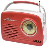 Cumpara ieftin Radio Akai APR-11R, USB, SD card, Rosu