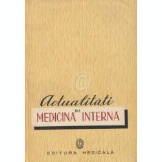 Actualitati de medicina interna