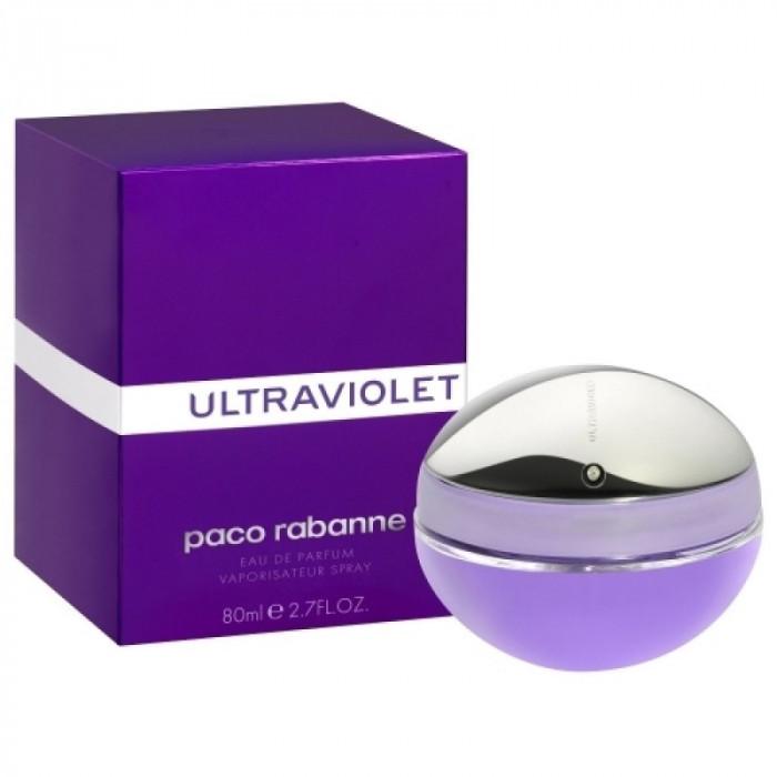 Apa de parfum Tester Femei, Paco Rabanne Ultraviolet, 80ml