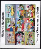 DB Disney  St. Vincent Prietenii lui Mikey Vanzatori MNH, Nestampilat
