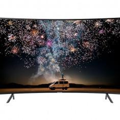 Televizor Samsung Curbat LED 49RU7302, 124 cm, Smart, Ultra HD, HDR10+, Negru