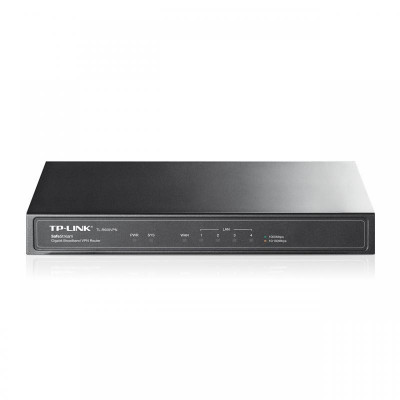 Router tp-link tl-r600vpn 1xwan gigabit 4xlan gigabit 20 tunele vpn ipsec 16 tunele pptp si foto