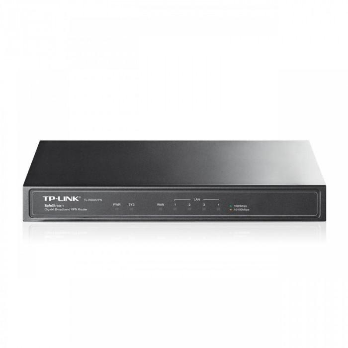 Router tp-link tl-r600vpn 1xwan gigabit 4xlan gigabit 20 tunele vpn ipsec 16 tunele pptp si