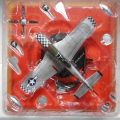 Macheta avion NORTH AMERICAN P-51D MUSTANG USA IXO scara 1:72
