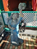Cumpara ieftin Sculptura vechi interesant, Lemn, Europa