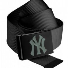 MLB Premium Black Woven Belt Single MasterDis ONE SIZE EU