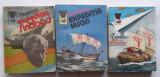 Colectia Delfin - Tim Severin - 3 carti Expeditia Sindbad, Iason Si Brendan