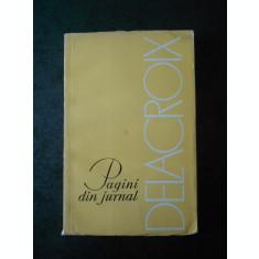 G. OPRESCU - DELACROIX. PAGINI DE JURNAL
