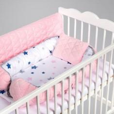 Salteluta cuib pentru bebelusi pink