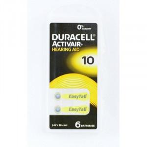 Baterii Auditive Duracell PR10