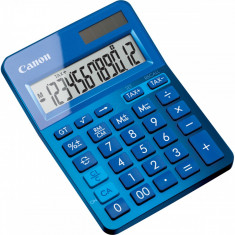 Calculator de birou Canon LS123KBL 12 DIGITS Blue