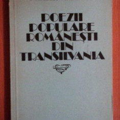Poezii populare romanesti din Transilvania / Oszkar Mailand
