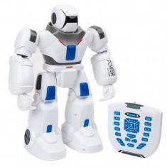 Robot cu telecomanda IR, 38 cm, lumini si sunete, 3 ani+