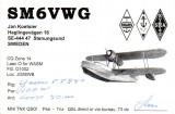 Suedia 2002 QSL Aviatie