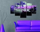 Tablou decorativ multicanvas Destiny, 5 Piese, Peisaj, 247DST1943, Multicolor